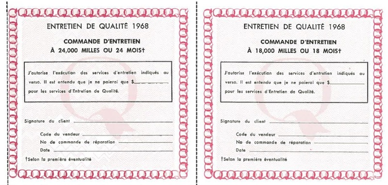 Manuel du propriétaire Mustang 1968 édition française Canada Page_513