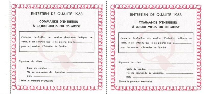 Manuel du propriétaire Mustang 1968 édition française Canada Page_515