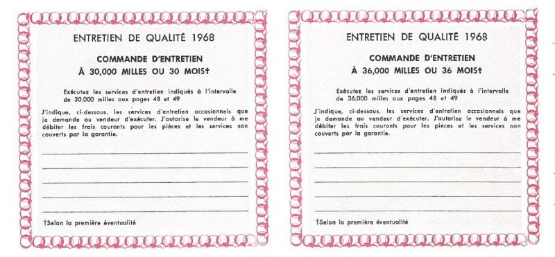 Manuel du propriétaire Mustang 1968 édition française Canada Page_516