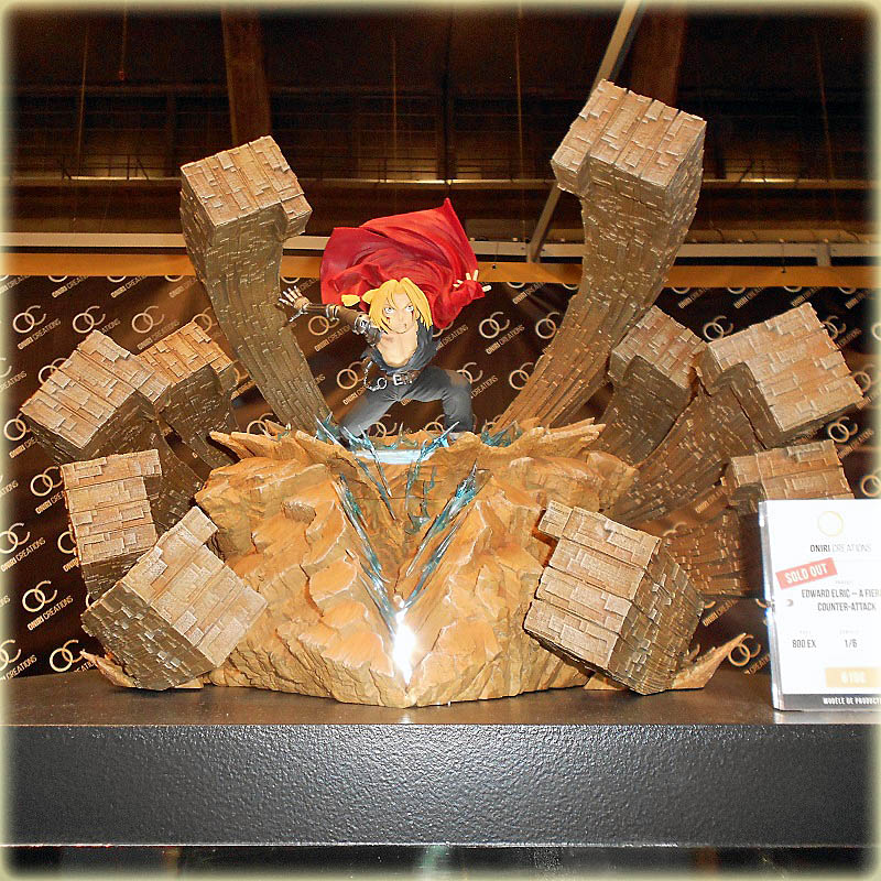 Oniri Créations : Edward Elric Statue (Fullmetal Alchemist) Oniri_23