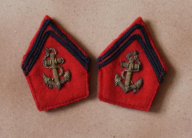 Pattes de col officier Troupes Coloniales WW2 - ESC 3 Vendues Img_0248