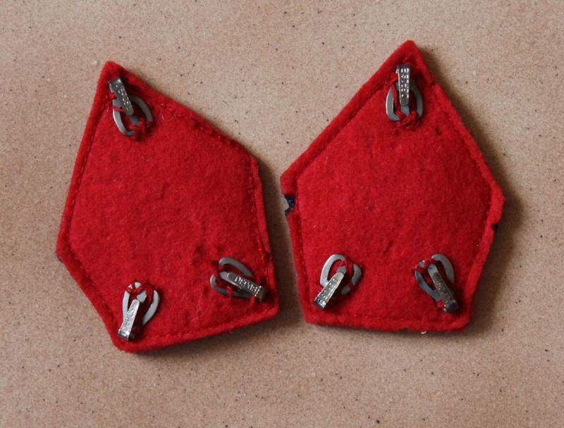 Pattes de col officier Troupes Coloniales WW2 - ESC 3 Vendues Img_0249