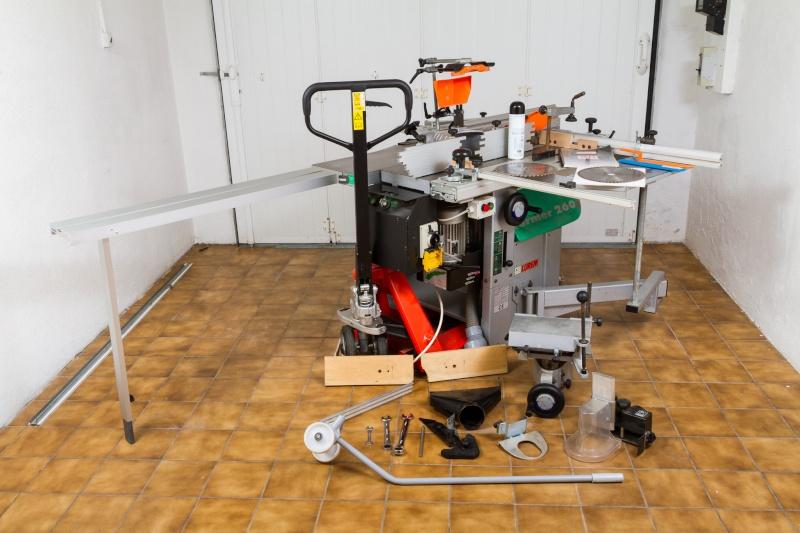 [VENDS] Combinée à bois Lurem 26S, aspirateur et accessoires VENDU 2015-171