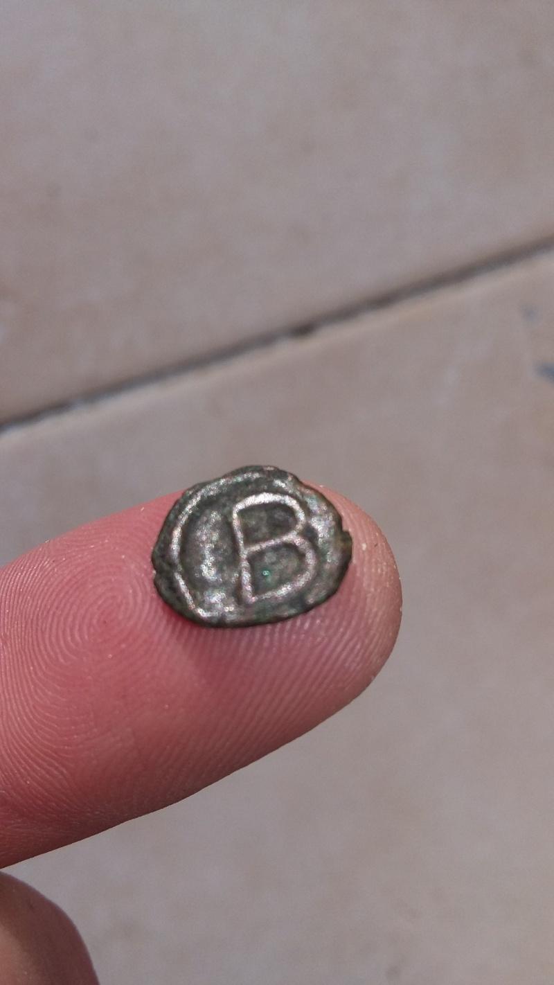 Monnaie byzantine de 2 nummium 20151252