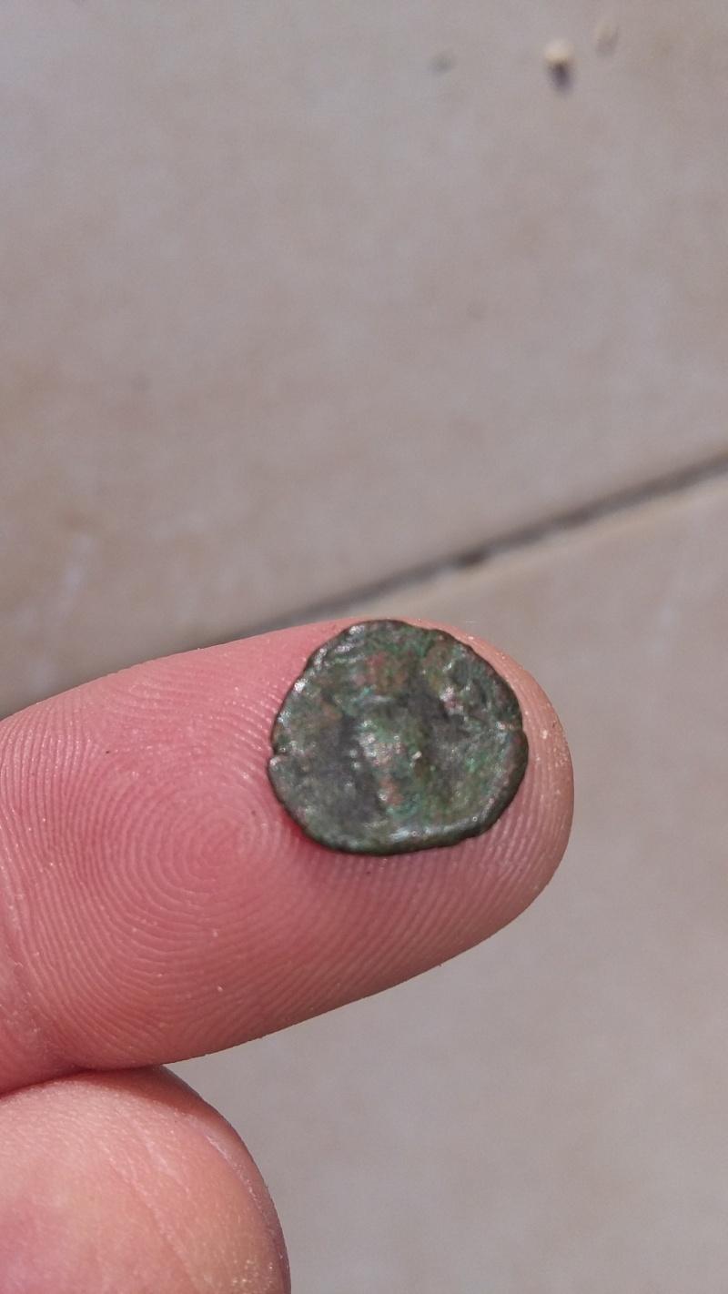 Monnaie byzantine de 2 nummium 20151253