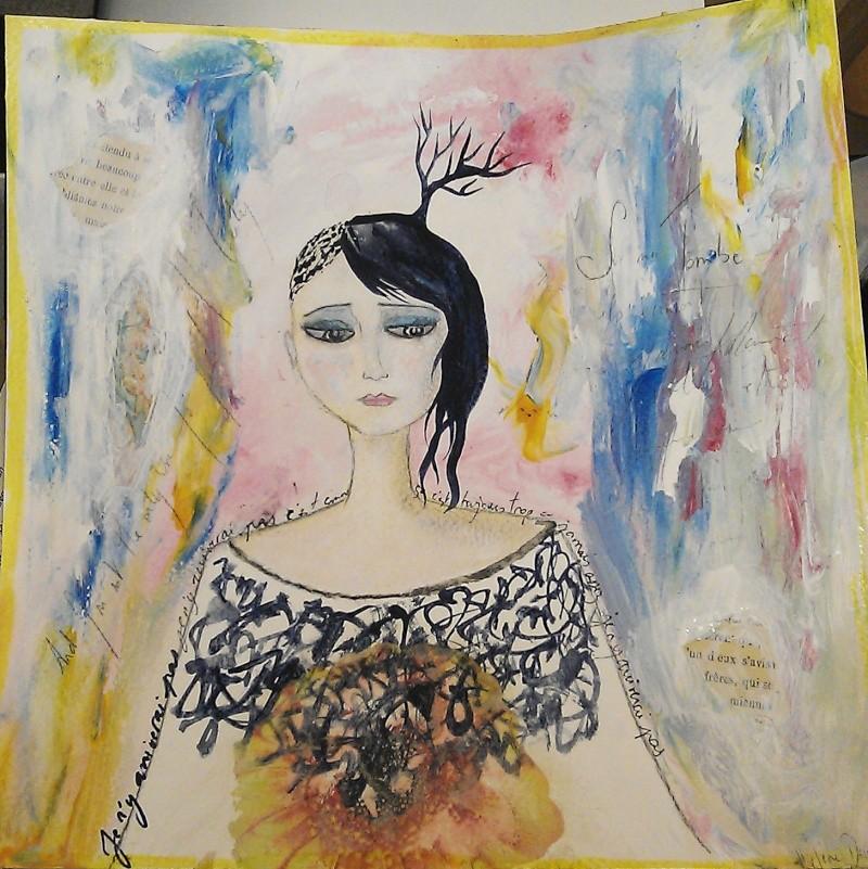 Peinture du jour avec plein de nuages noirs dans ma tête J_y_ar11