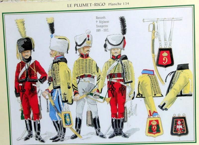Trompettes du 9ème Hussards Dsc06710