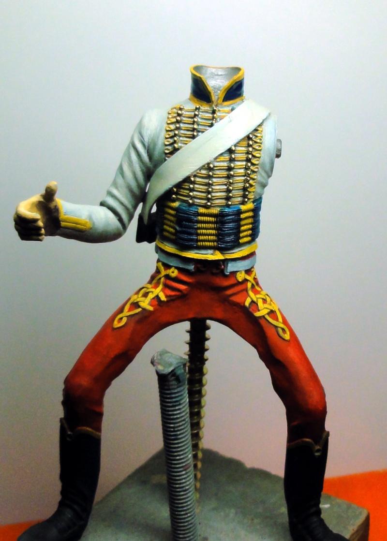 Trompette de Hussards Jérôme Napoléon Poste Militaire Dsc06910