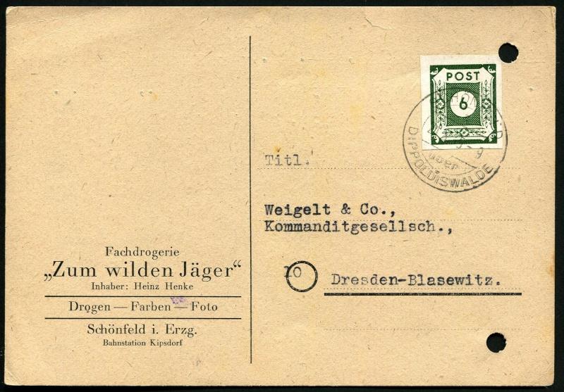 Ostsachsen (OPD Dresden) -Sowjetische Besatzungszone- - Seite 10 Postst13