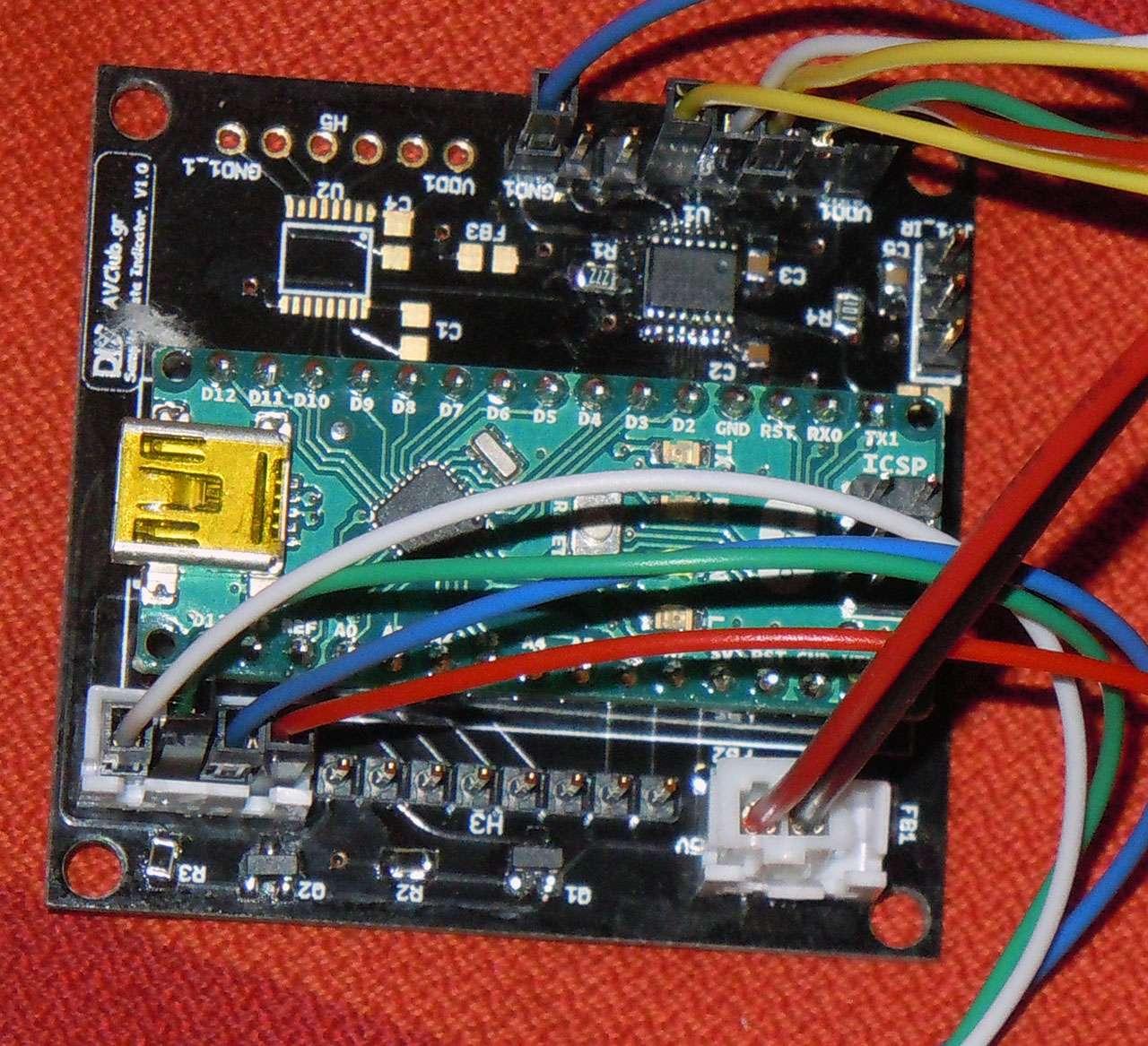 Indicatore di frequenza di campionamento per DAC Dscn4310