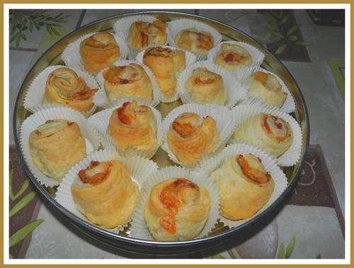 Bouchons feuilletés au jambon cru Boucho10