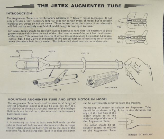 For Sale: ODD Stuff!  Jetex Augmenter Tube and Glendale Hobby Supply Engine Choke/Cut Off 5_17