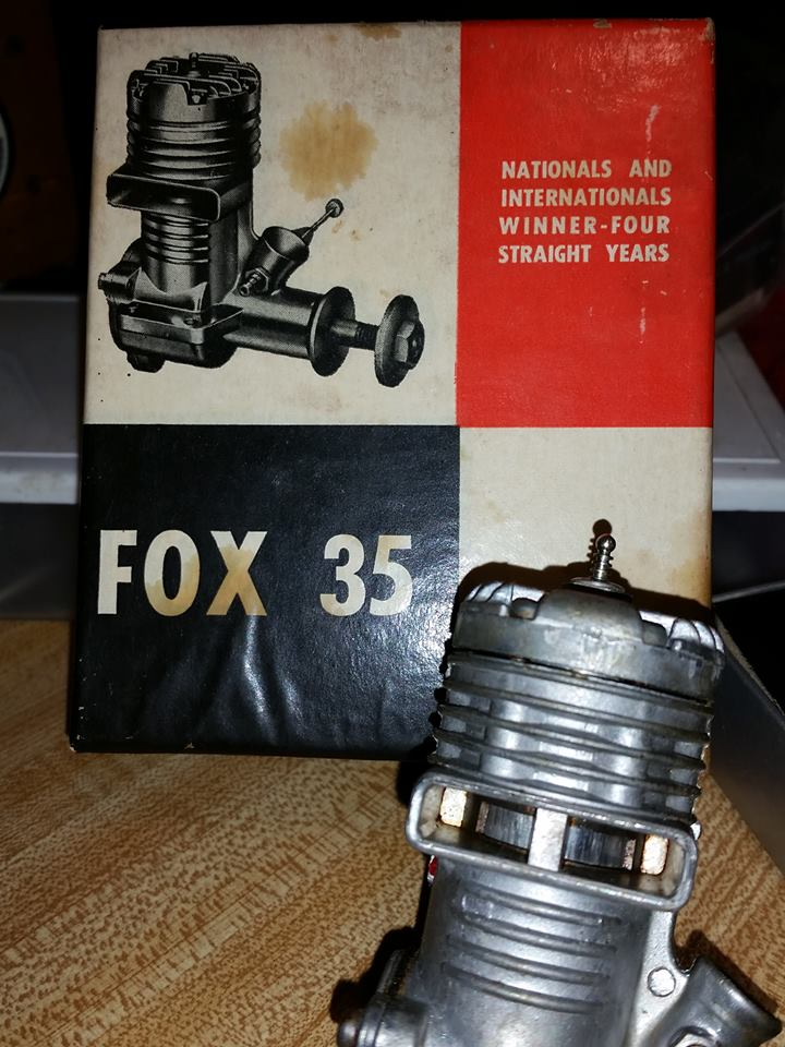 Fox .35 with Box, looks new? 12459910