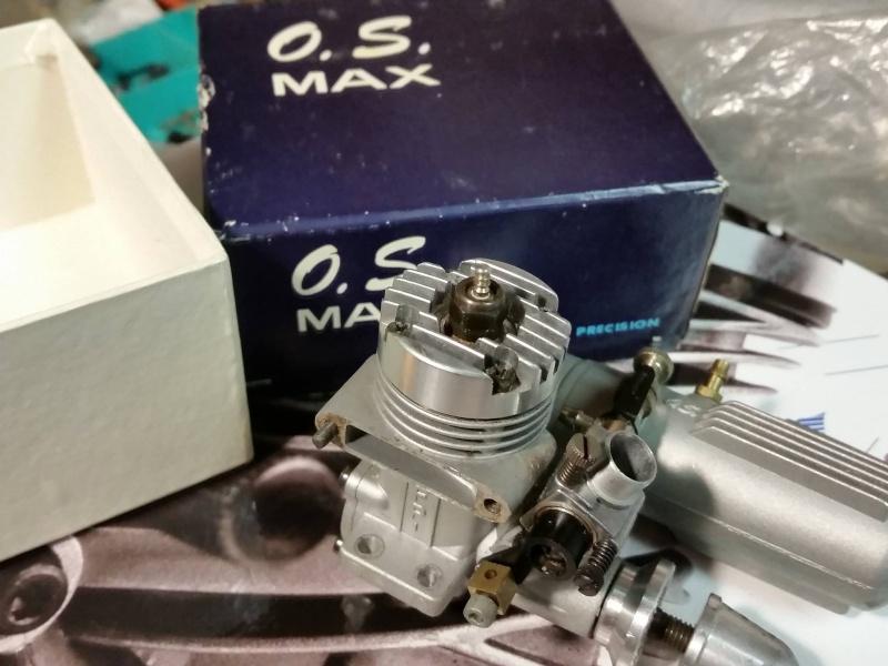 O.S. .10FP R/C w/ muffler  12465410