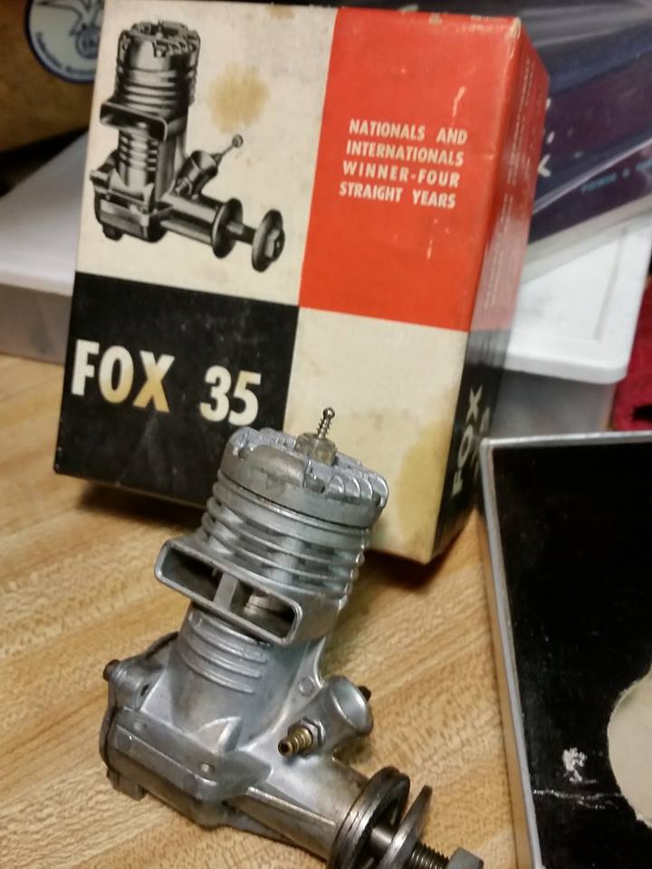 Fox .35 with Box, looks new? 12468010