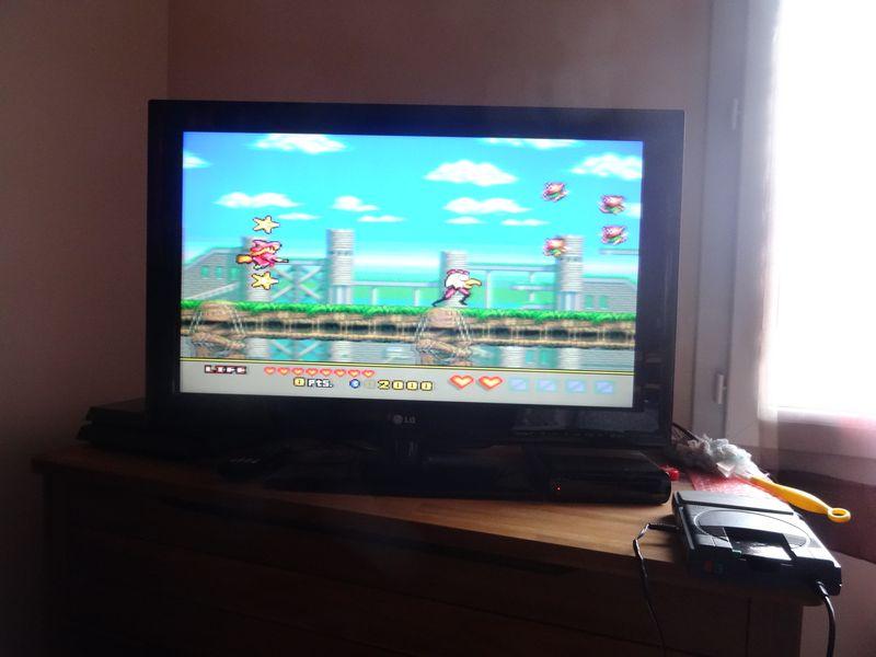 Mes réalisations: PC Engine Megaman (custom PCB par Ichigo) Dsc02016