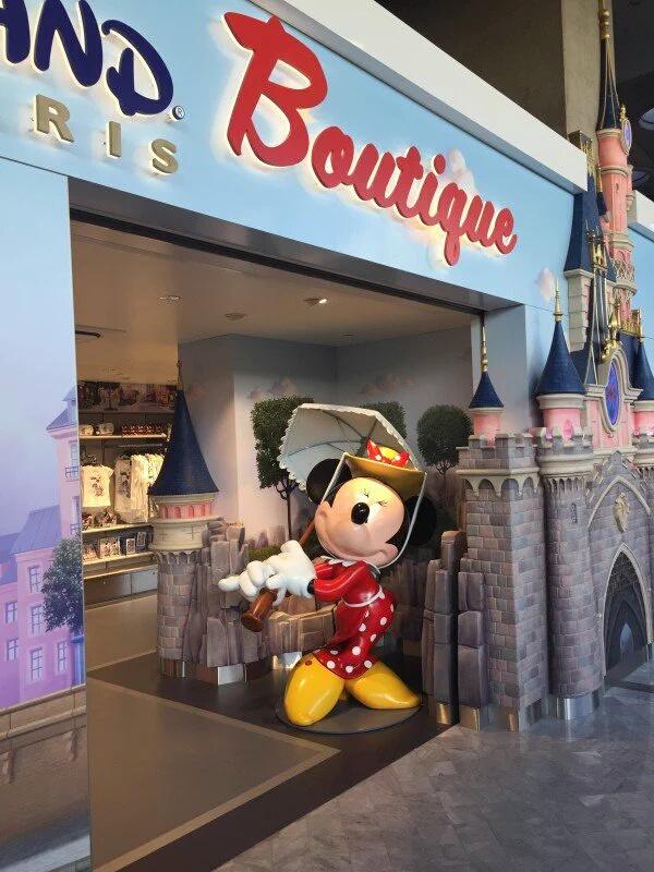 Ouverture d'une boutique Disneyland Paris à l'aéroport Roissy Charles de Gaulle  Img_2010