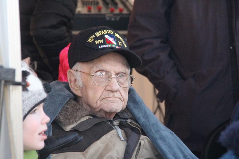 Le vétéran Henri Smith le 16 janvier 2016 12593910