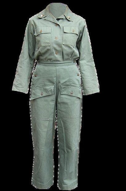 Tenues de sortie, tenues de combat, nurse des WACS 8e723210