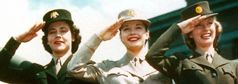 Tenues de sortie, tenues de combat, nurse des WACS 8e723217