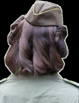 Tenues de sortie, tenues de combat, nurse des WACS 8e723221
