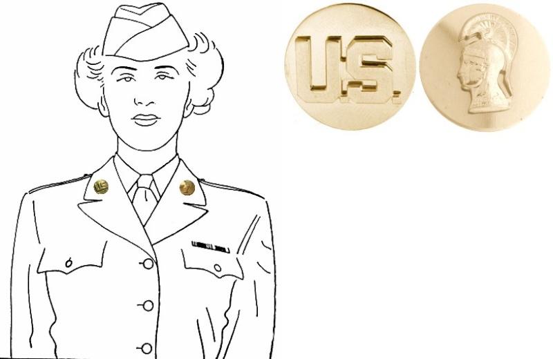Tenues de sortie, tenues de combat, nurse des WACS A358_l10