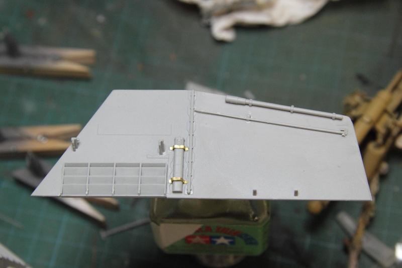Sd.Kfz. 165 Hummel (1/35° Dragon + amélioration) [montage en cours] 16002310