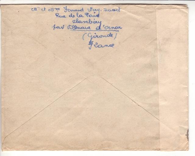 Bande de fermeture belge sur lettre de Bordeaux pour le CICR de Genève 2024210