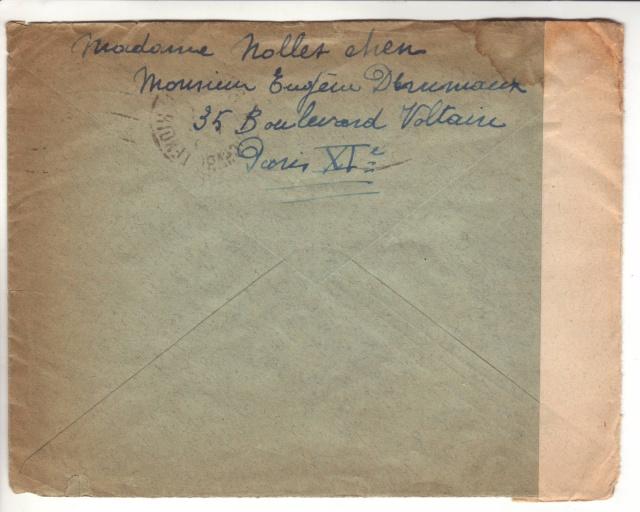Bande de fermeture belge sur lettre de Bordeaux pour le CICR de Genève 2024211