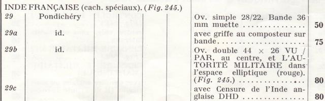 Censures des Etablissements Français dans l'Inde (EFI) pendant la 2° G.M. 60015_10