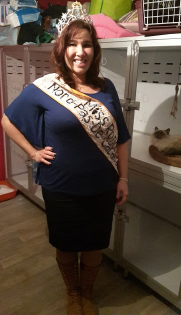 Miss Ronde Nord Pas de Calais 2015/France 2016 : Marraine de l'association Marily10
