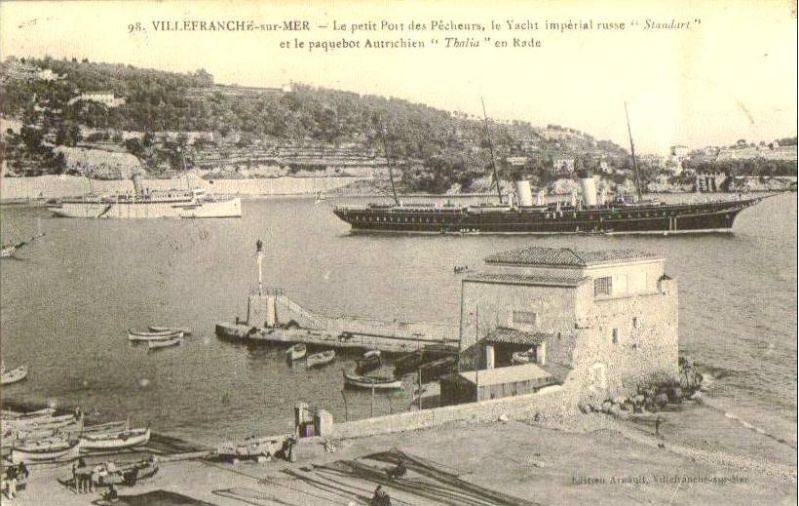 VILLEFRANCHE sur MER Patrimoine historique et  maritime 1906_s10