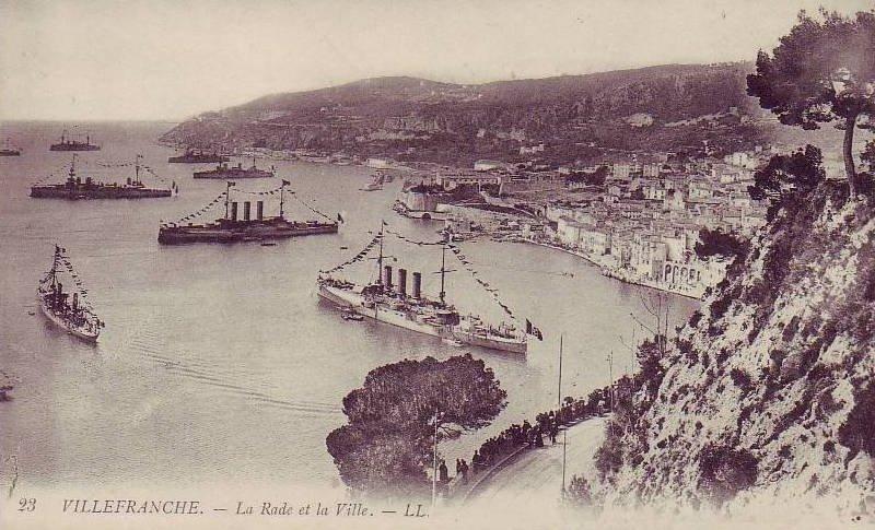 VILLEFRANCHE sur MER Patrimoine historique et  maritime 1909_410