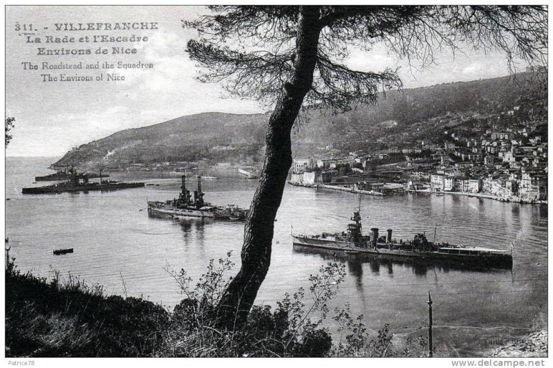 VILLEFRANCHE sur MER Patrimoine historique et  maritime 1922_210