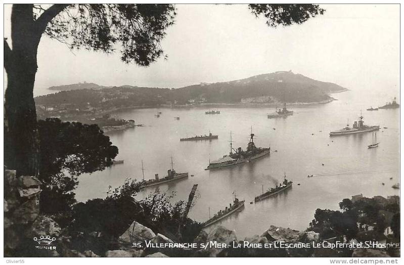 VILLEFRANCHE sur MER Patrimoine historique et  maritime 1925_210