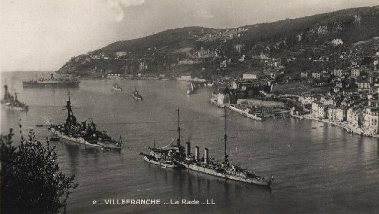 VILLEFRANCHE sur MER Patrimoine historique et  maritime 1926_m10