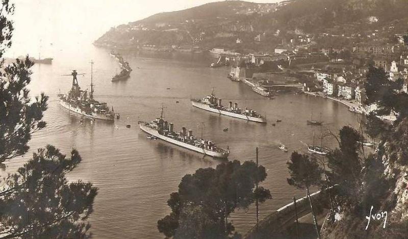 VILLEFRANCHE sur MER Patrimoine historique et  maritime 1934_210