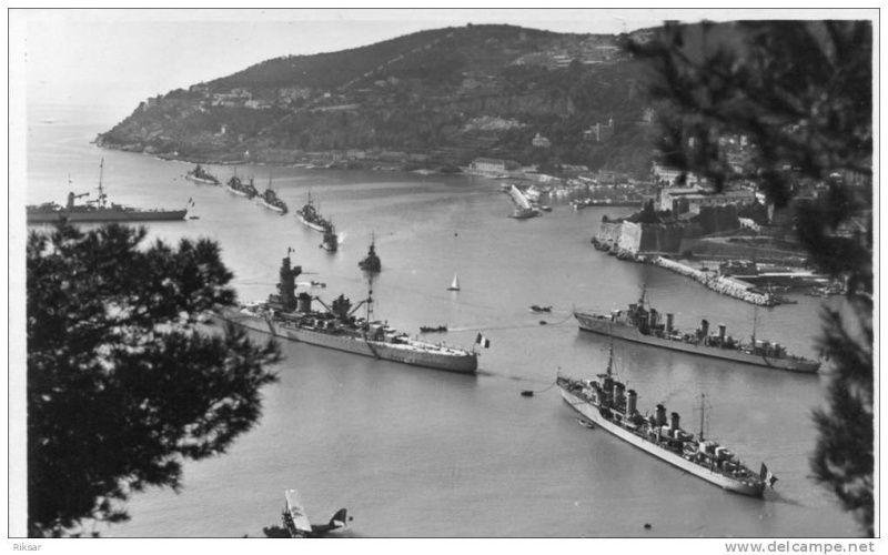 VILLEFRANCHE sur MER Patrimoine historique et  maritime 1935_310