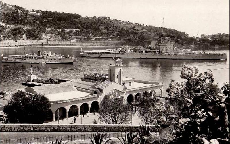 VILLEFRANCHE sur MER Patrimoine historique et  maritime 1938_w10