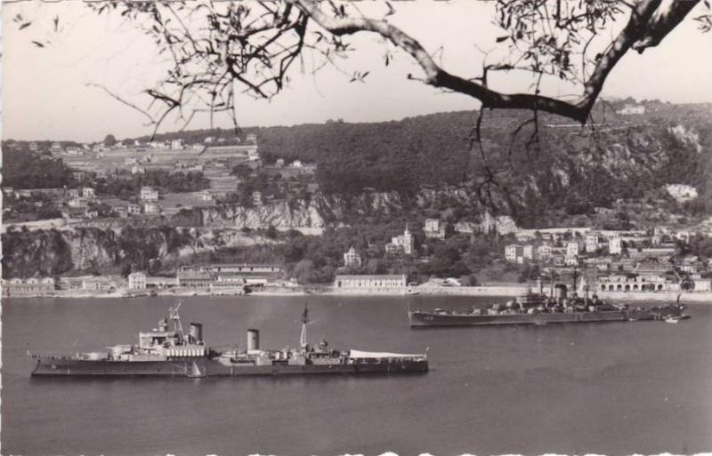 VILLEFRANCHE sur MER Patrimoine historique et  maritime 1953_q10