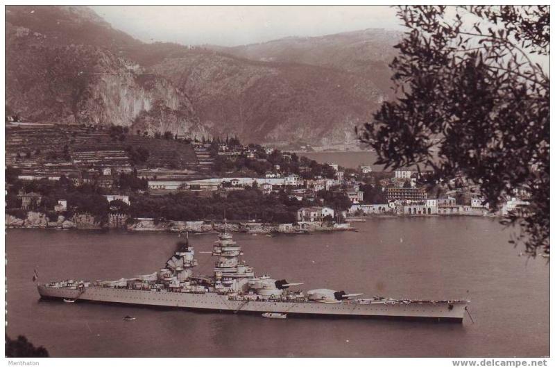 VILLEFRANCHE sur MER Patrimoine historique et  maritime 1955_r10