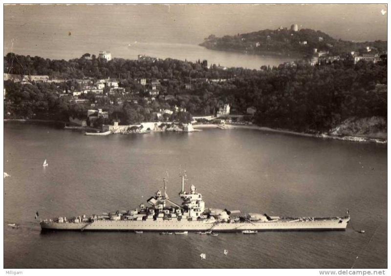 VILLEFRANCHE sur MER Patrimoine historique et  maritime 1957_j10