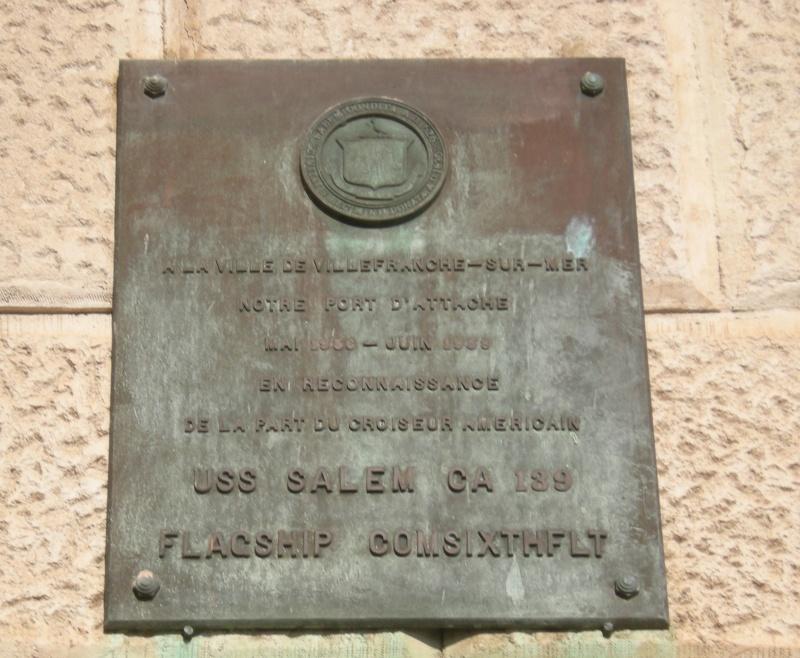 VILLEFRANCHE sur MER Patrimoine historique et  maritime 37_pla11