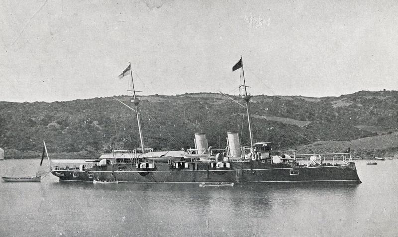 Croiseurs espagnols Alfons10