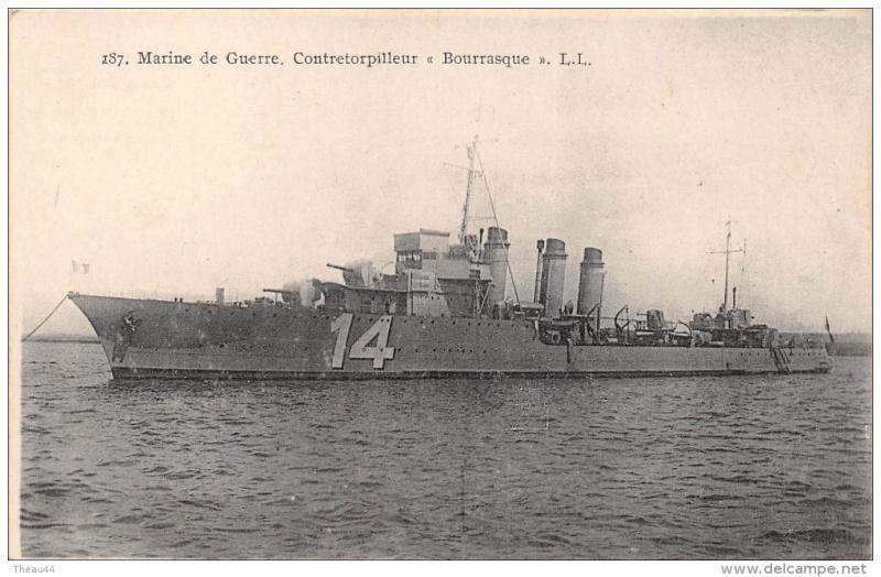 Les torpilleurs français Bourra11