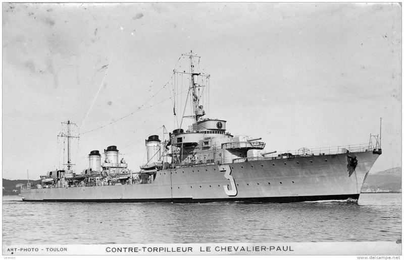 Les contre-torpilleurs français Cheval10