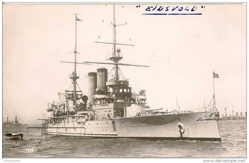 Marine norvégienne  Eidsvo10