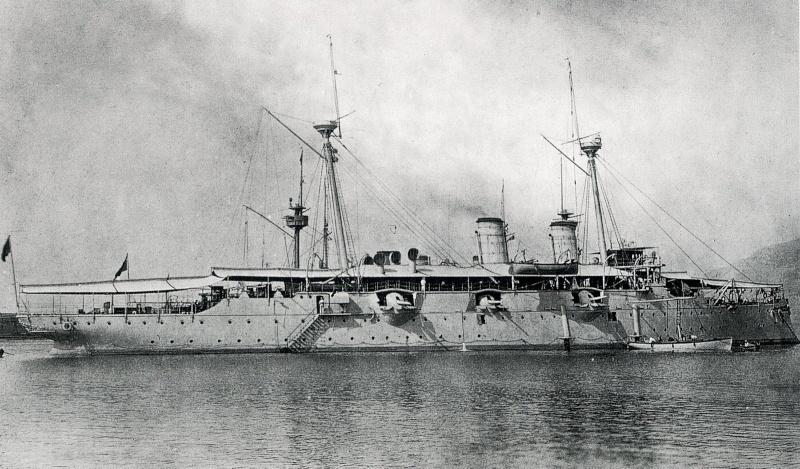 Croiseurs espagnols Lepant10