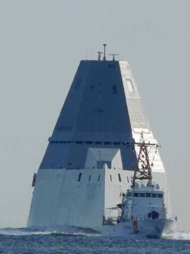 L'USS Zumwalt, le futur destroyer de la marine américaine Zumwal10