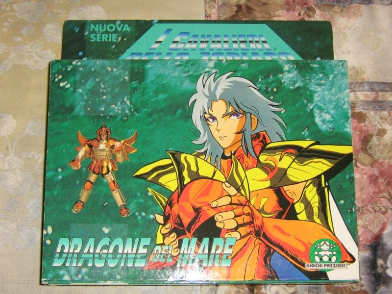 Cavalieri - Vendo CAVALIERI DELLO ZODIACO SCATOLA TEMPIO 1989 Dragon11